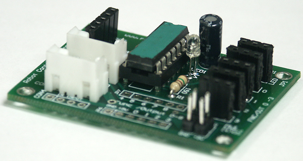 9 output decoder board